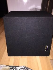 ALPINE SUB, AMP AND BOX READY TO GO Cambridge Kitchener Area image 3