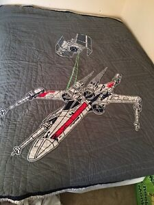 Awesome Pottery Barn Kids Star Wars Quilt set - like new- Queen Kitchener / Waterloo Kitchener Area image 3