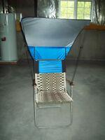 Pare-soleil pour chaise de parterre