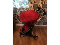 Quinny Zapp Xtra Pushchair in Red
