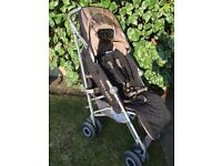 Maclaren pram/pushchair/buggie/stroller and matching car seat