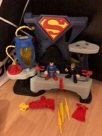 Fisher Price Superman playset