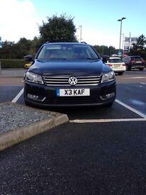 VW Passat estate 2.0 blue motion 2012