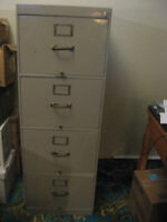 Filing Cabinet with Dividers