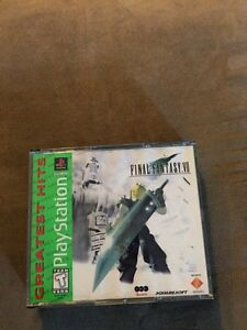 Final Fantasy 7 for PS1