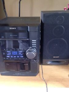 Stereo with speaker