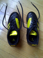 Adidas soccer cleats kids size 2