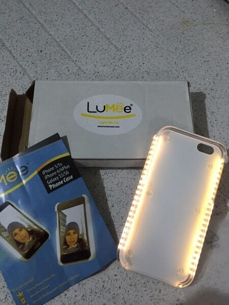 2 X Lumee Light Up Mobile Phone Case iPhone 6 6s