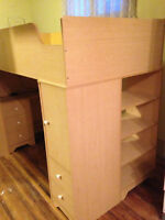 Bunkbed and mattress in a very good condition