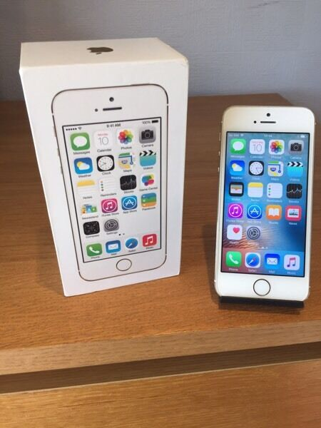 APPLE IPHONE 5S GOLD 16GB O2/TESCO/GIFFGAFFin Culverhouse Cross, CardiffGumtree - Apple iPhone 5s Gold 16GB. Comes with box and charger. Can be used on O2/Tesco/Giffgaff networks. This phone is in excellent cosmetic condition with hardly a mark on it. Has been well looked after. Full working order. £130. No offers on price....