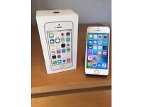 APPLE IPHONE 5S GOLD 16GB O2/TESCO/GIFFGAFF