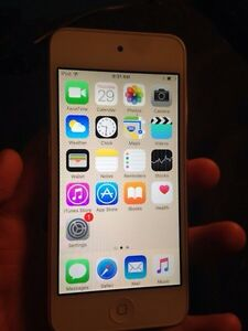 Ipod touch 6th Gen white 32 gb 200$