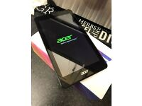 Acer tablet in box