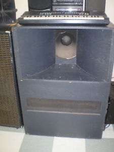 SOUND SYSTEM, VINTAGE THEATRE SPEAKERS, SOUND ELECTRONICS