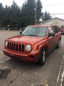2010 Jeep Patriot 4x4 Safetied