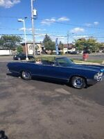 1965 Pontiac custom sport convertible in excellent condition