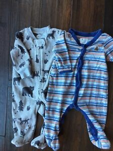 Baby Gap & Carter Sleepers - Size 3 months London Ontario image 1