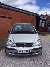 2004 Mercedes A140 petrol 1.4 petrol