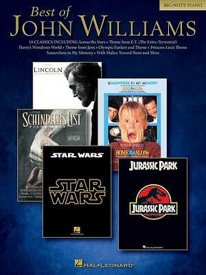 Best of John Williams Sheet Music Big Note Composer Collection Book NE