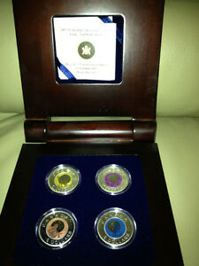 Nobium Full Moon Bi-Annual Series Coin Set