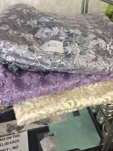 Lace table runners for sale weddings events assorted colours Welshpool Canning Area Preview