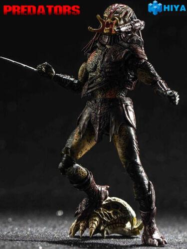 Hiya Toys Predators Unmasked Berserker Predator 1:18 Scale Action Figure New