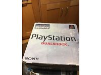 **SONY PLAYSTATION 1 **WITH CONTROLLERS AND LEADS ETC**FULLY WORKING**