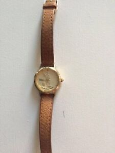 Ladies Mickey Mouse Watch Gold tone