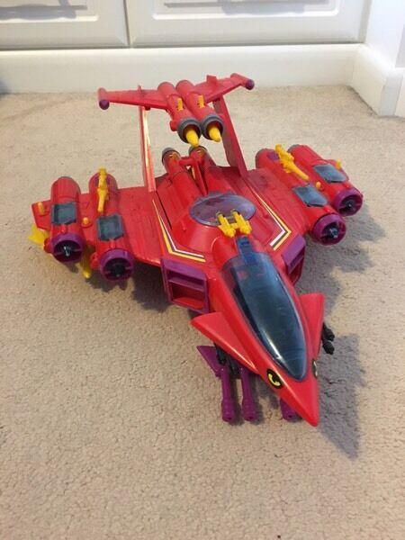 Manta force Red venom ship