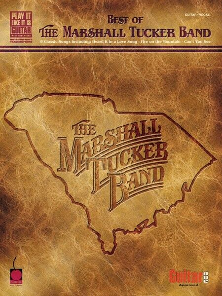 Best of The Marshall Tucker Band Sheet Music Play It Like It Is NEW 002500305