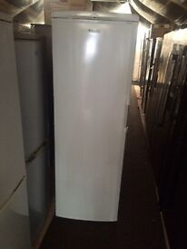 White Hotpoint H 175cm W 60cm refrigerators good condition with guarantee bargain