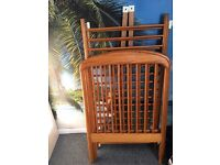 Baby cot bed included mattress