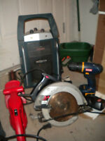 CLEANING OUT THE GARAGE!! TOOL LOT ALL FOR ONLY $80.00!!!