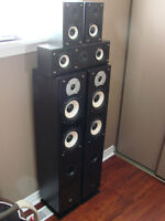"complete hyline audio 5 speakers ""excellent sound and quality"""