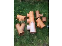 New Sewer pipe fittings
