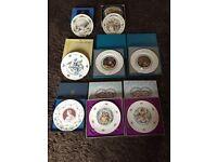 Collection of Royal Doulton, Coalport & Aynsley Fine Bone China Plates