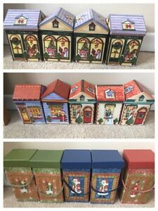 Various Christmas boxes