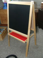 Chalk & Whiteboard Easel
