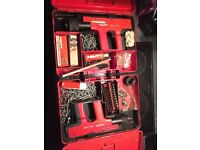 Hilti 450DX nail gun and spare (parts) gun with service kit