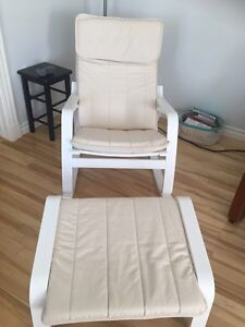 IKEA POANG Rocking chair + footstool