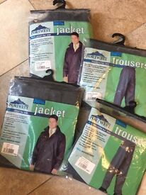 Sealtex Portwest Jackets & Trousers (NEW) - 2 Sets Available (Large & XLarge)