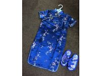Oriental dress age 3/4