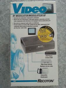 Recoton video RF modulateur