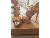 River Island heels size 5 never been worn!!