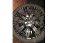 20 inch Range Rover alloys with tyres