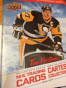 Tim Hortons 2016-17 hockey cards