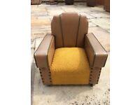 Gorgeous Art Deco Childs Chair