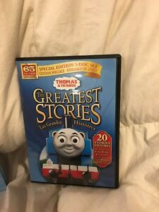 Thomas and friends greatest stories DVDs