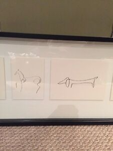 Ikea Picasso pictures in frame  Kitchener / Waterloo Kitchener Area image 3