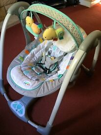 Taggies baby swing seat